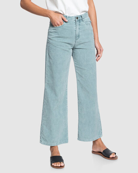 ESSENTIAL THING HIGH WAIST WIDE LEG CORDUROY PANTS