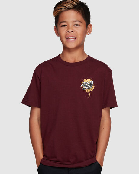 DRIP DOT TEE - YOUTH - SMU