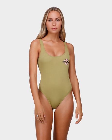 RETRO CLASH SOLID ONE PIECE