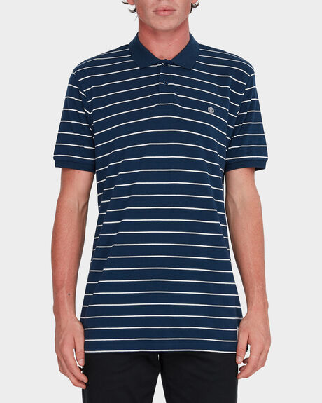 LACED SHORT SLEEVE POLO