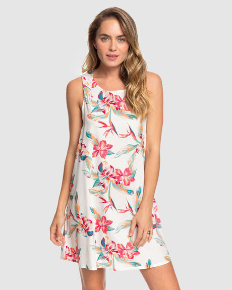 TRANQUILITY VIBES SLEEVELESS DRESS