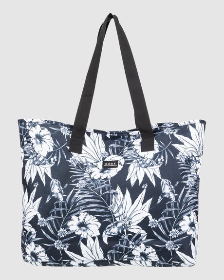 WOMENS WILDFLOWER RECYCLED TOTE BAG