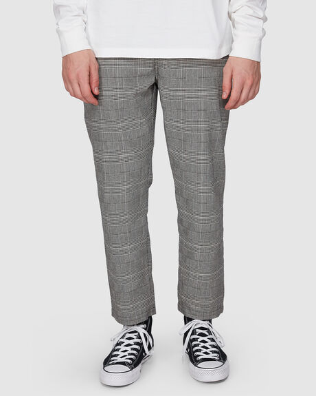 CAMDEN CHECK CHOPPED CHINO