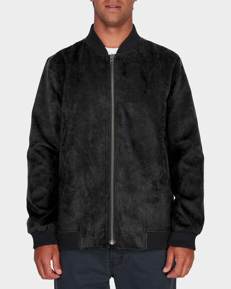 RVCA SUEDE OUT JACKET