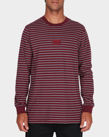 RVCA STRIPES LONG SLEEVE TEE