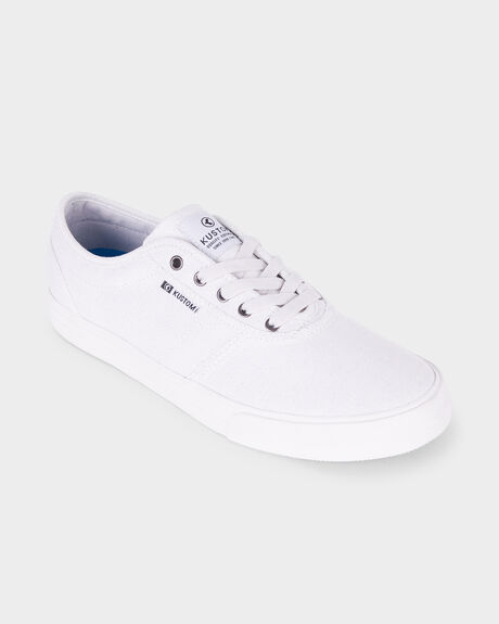 DROPKICK PRO WHITE SPECKLE SHOE