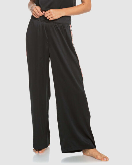 WOMENS WANT IT ALL WIDE LEG SATIN PANTS