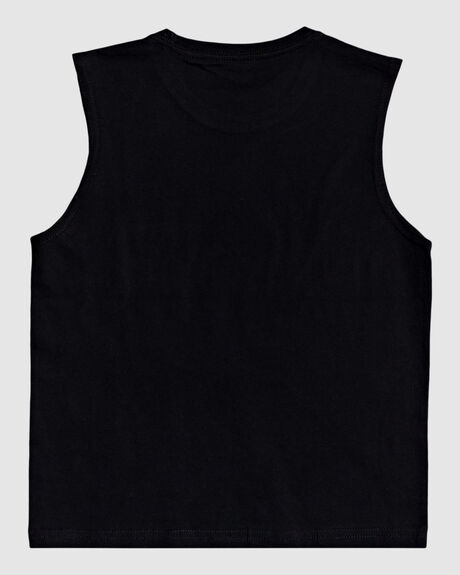BOYS NOTE TO SELF MUSCLE T SHIRT