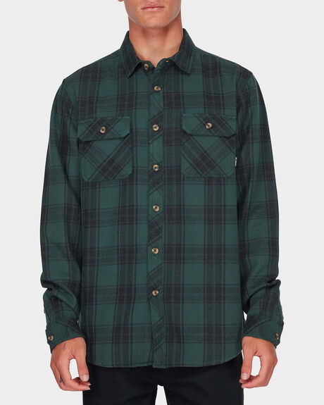 LUMBER LONG SLEEVE FLANNEL SHIRT