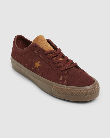 ONE STAR PRO LOW BROWN SHOE