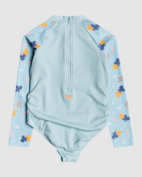 GIRLS YOU BABY LS UPF50 ONE PIECE SWIMSUIT