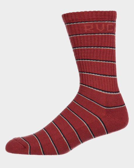 RVCA STRIPES SOCK