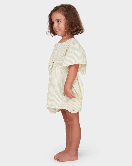 SOLEIL STRIPE COVERUP DRESS