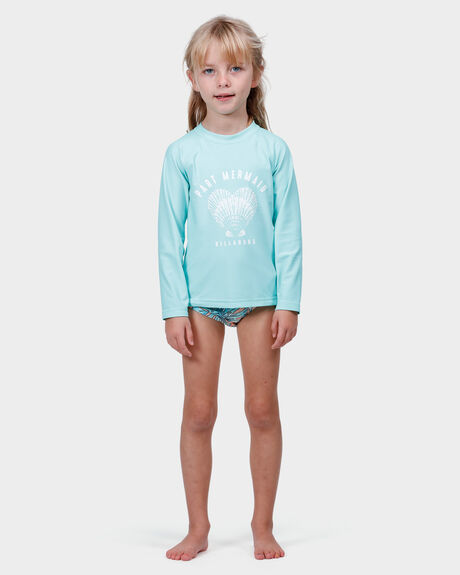 PART MERMAID RASHGUARD