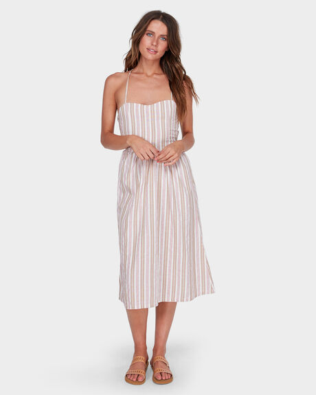 DOUBLE BAY STRIPE DRESS