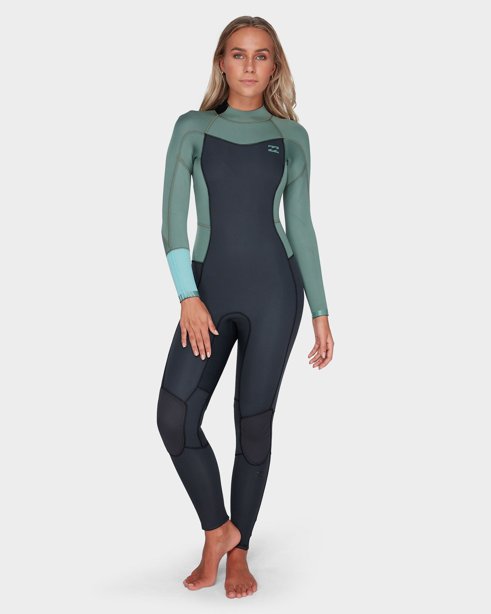 RIP CURL 2018 Womens G-Bomb 1mm LS Front Zip Hi Cut Shorty Wetsuit Black f3b04fe09