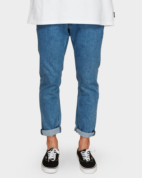 A SLIM APOLLO BLUE JEANS