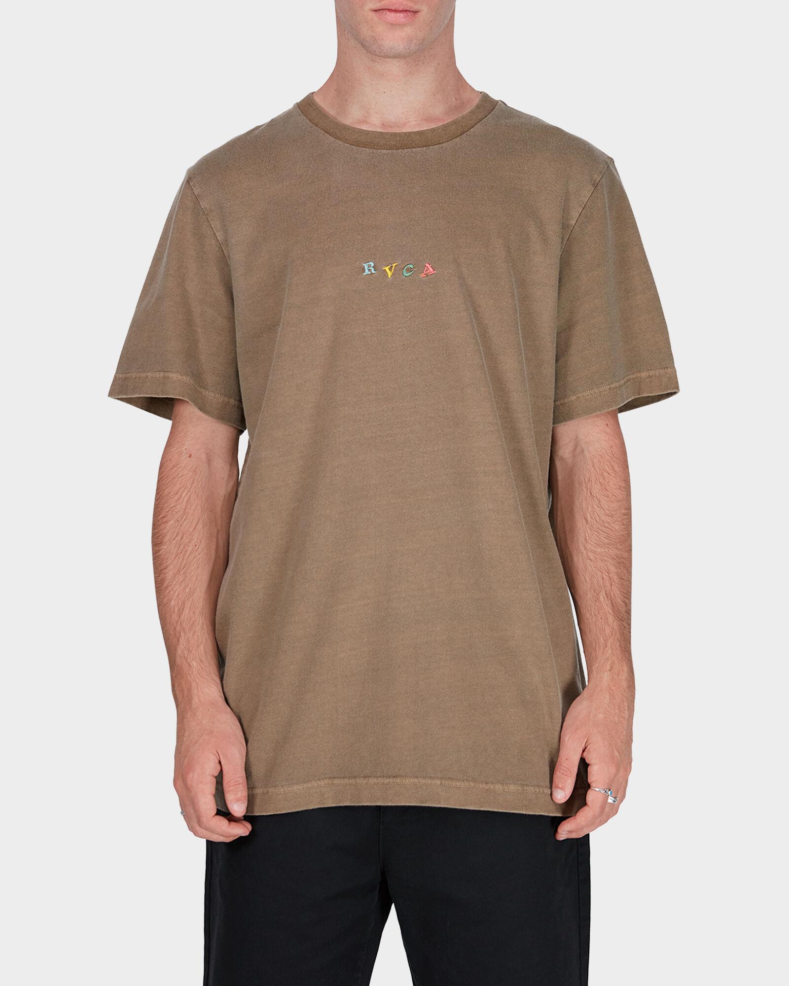 RVCA Mens Crypt Party Short Sleeve T-Shirt