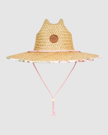WOMENS PINA TO MY COLADA STRAW HAT