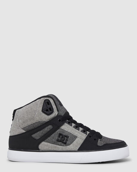 MENS PURE HIGH TOP LEATHER SHOES