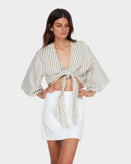 SUNS OUT STRIPE TOP