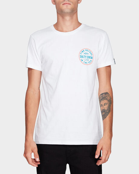 TWIN FIN SHORT SLEEVE TEE