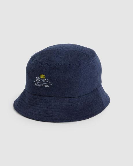 CORONA BUCKET HAT NAVY