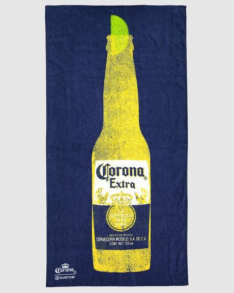 CORONA TOWEL NAVY