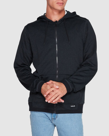 DRIFIT DISPERSE ZIP FLEECE HOODIE