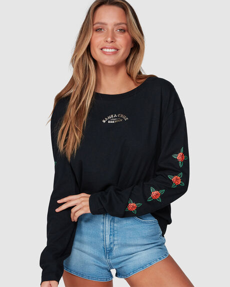 DRESSEN ROSE KIT LONG SLEEVE TEE