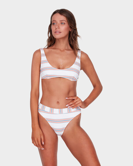 Swells Up Stripe Bralette