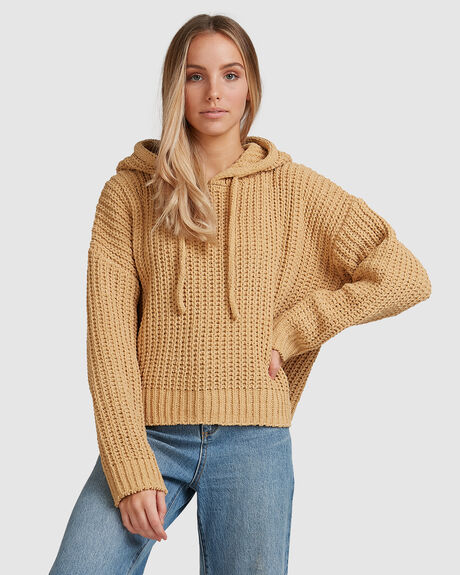 NELLY HOODED SWEATER