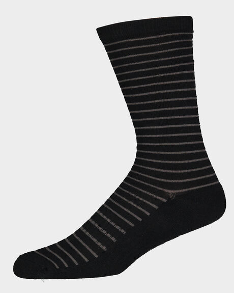 STRIPE CLASSIC CREW SOCK - 1 PAIR
