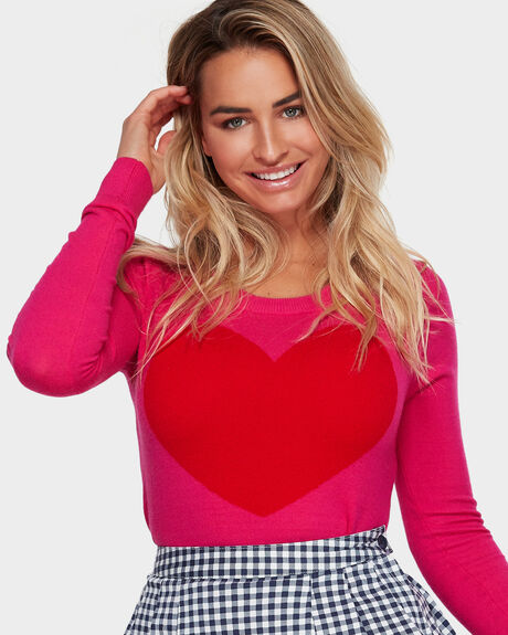 GMJ HEART JUMPER