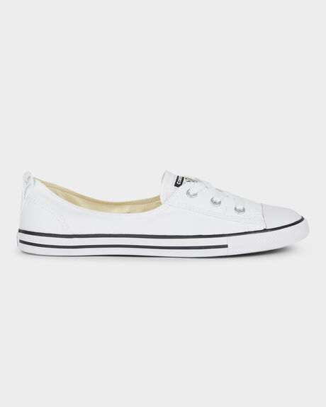 9094248ad87b87 White CHUCK TAYLOR ALL STAR BALLET LACE UP SHOE