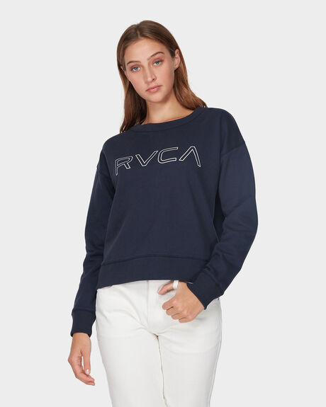 RVCA KEYLINE CREW