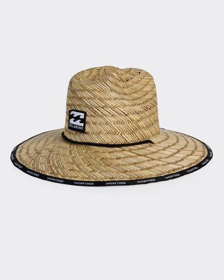 WAVES STRAW HAT