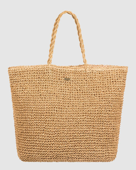 POSITIVE ENERGY LARGE STRAW TOTE