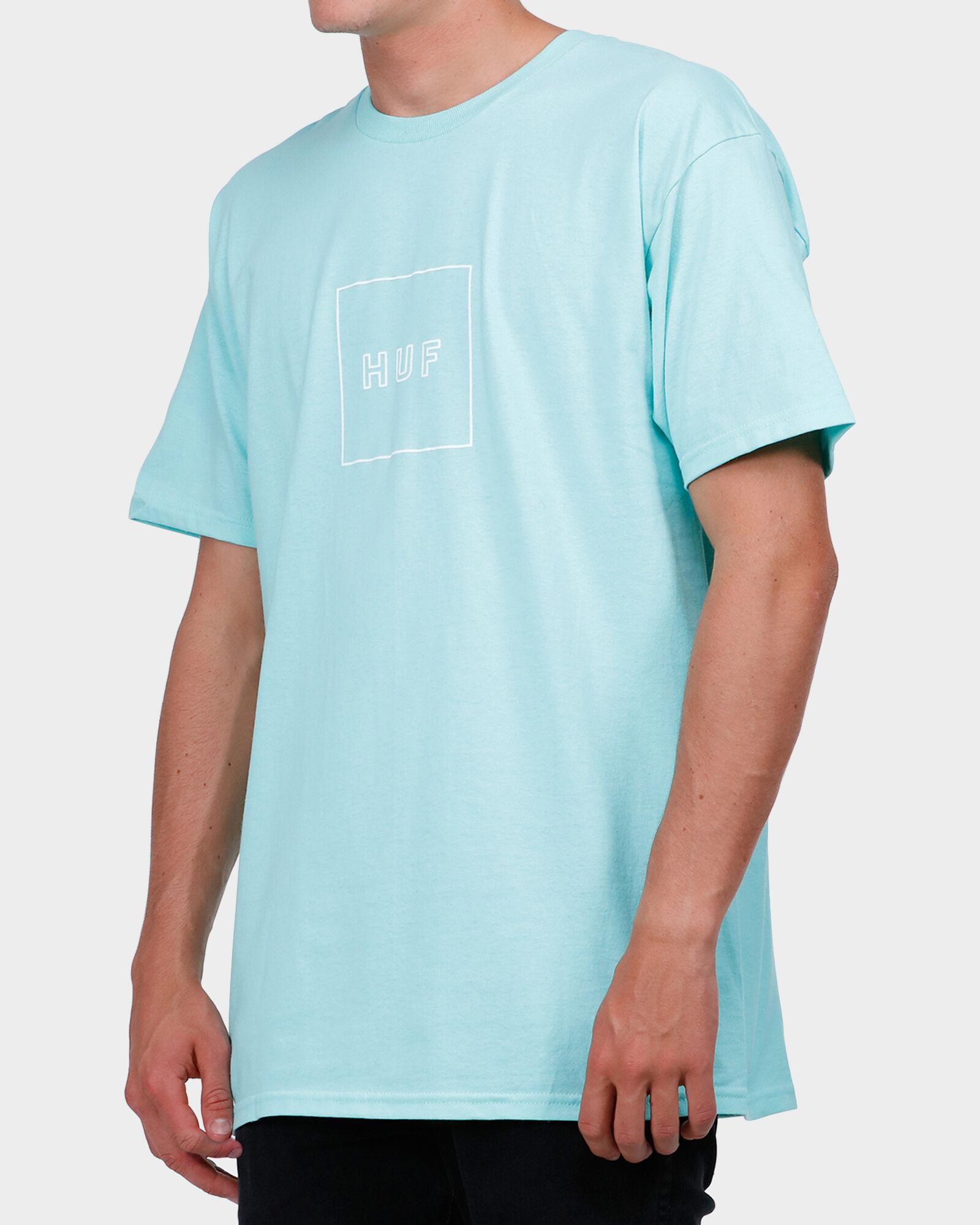 Celadon BOX LOGO PUFF TEE | Surf, Dive 'N' Ski