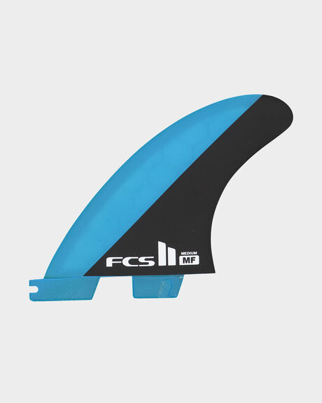FCS II MF PC BLUE/BLACK MEDIUM TRI RETAIL FINS