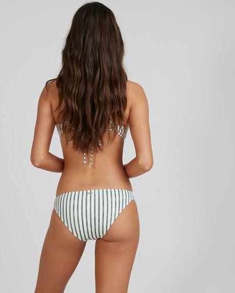 WOMENS PRINTED BEACH CLASSICS REGULAR BIKINI BOTTOMS