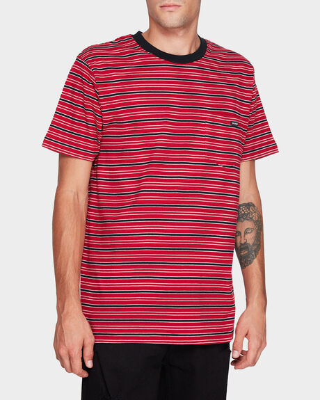 EVERY STREET TEE RED STRIPE