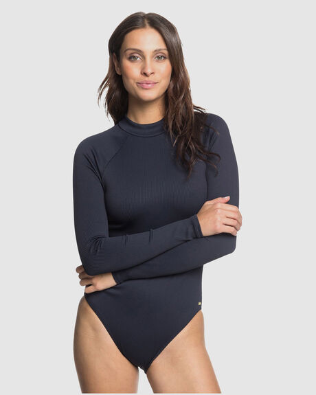 WOMENS MIND OF FREEDOM LONG SLEEVE UPF 50 ONE-PIECE SWIMSUIT