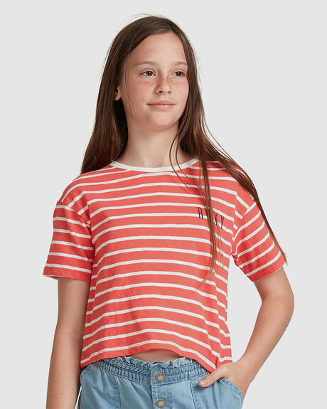 GIRLS 4-16 IN MY LIFE CROPPED T-SHIRT