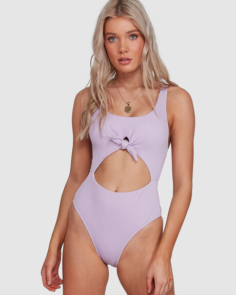 BRAID RIB ONE PIECE