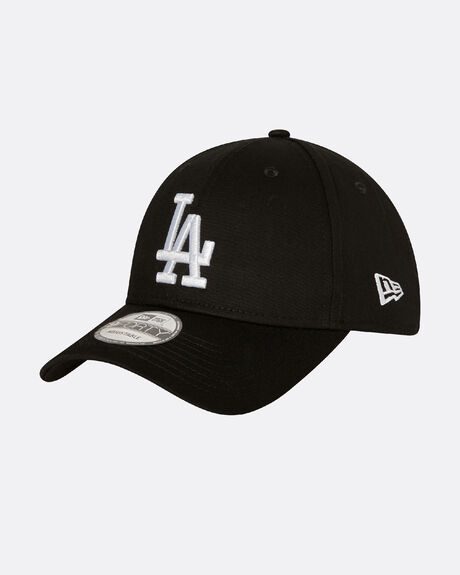 NEW ERA LA DODGERS CAP BLACK/WHITE