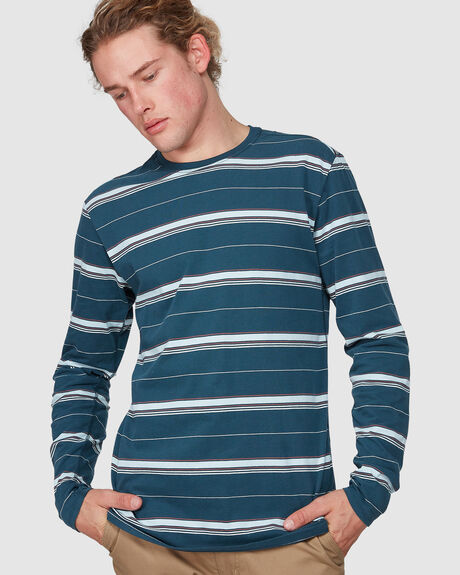 DF HARVEY STRIPE TOP  LONG SLEEVE TEE