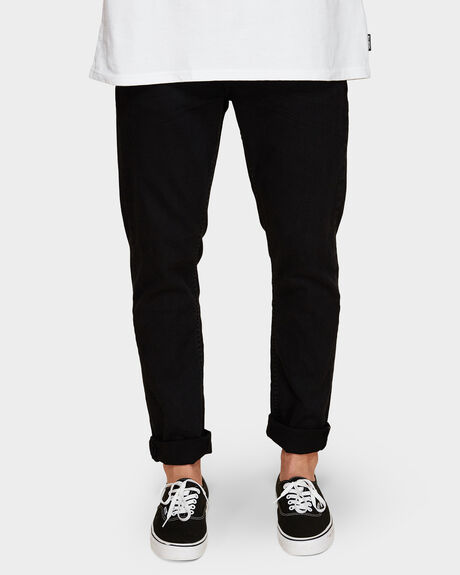 TIM SLIMS BLACK RAVEN JEANS