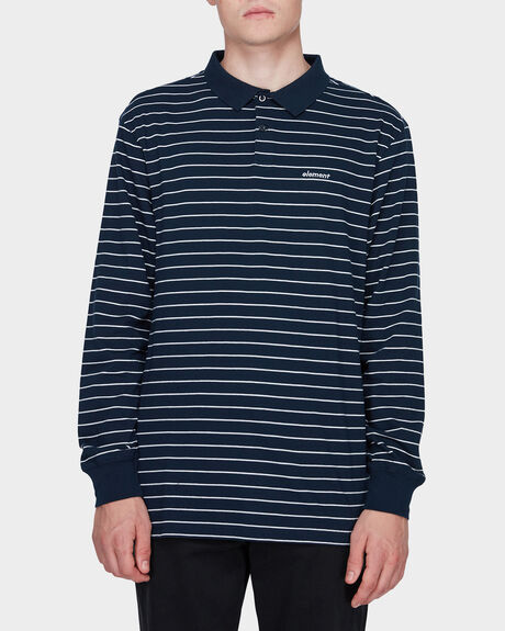 MIDNIGHT LONG SLEEVE POLO