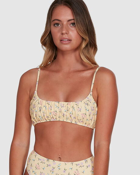 PRETTY MOON GATHERED BRALETTE BIKINI